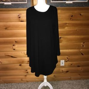 Casual black dress